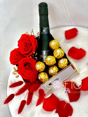 Love Flower and Wine
