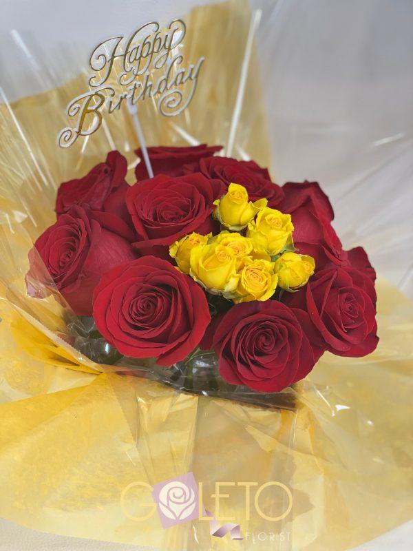 Goleto Birthday Flowers design 01