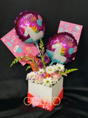 Goleto Birthday Flowers design 04