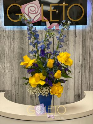 Goleto Birthday Flowers design 09