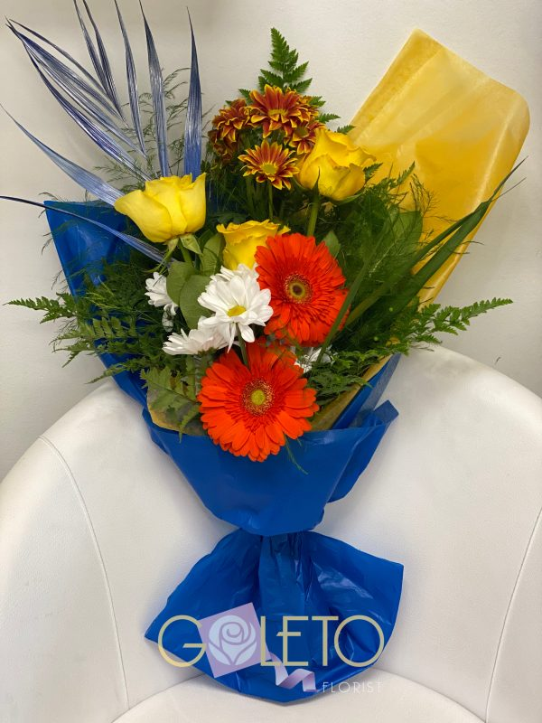 Goleto Birthday Flowers design 10