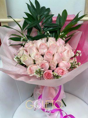 Pink Love Flowers