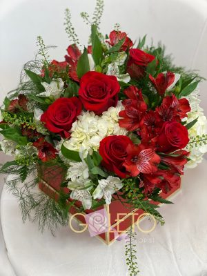 Lovely Flowers in a box