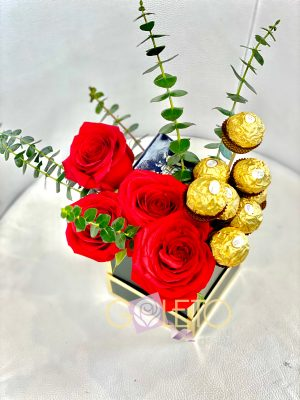 Add flowers and love to you my gift